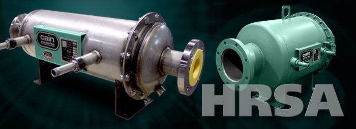 Heat Recovery Silencer Axial